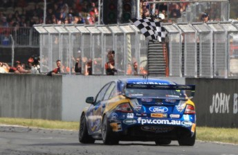 Winterbottom finished third, but it could have been a win