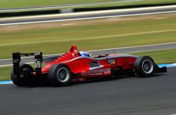 Chris Gilmour took Race 3
