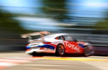 Ben Barker's Team BRM Porsche