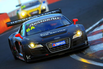 The winning Audis from last year's race will return in 2012