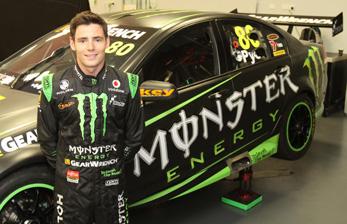 Scott Pye will drive the #80 Monster Energy Drinks Commodore VE
