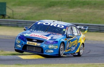 The Orrcon Steel FPR Ford of Mark Winterbottom