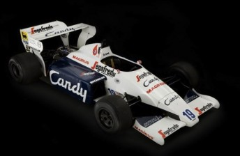 The Ayrton Senna Toleman that will be sold in May this year