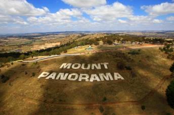 The famous Mount Panorama circuit at Bathurst, NSW
