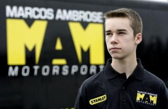 Marcos Ambrose Motorsport Driver Development Program star Ben Rhodes