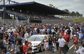 A massive crowd of fans turned out to Eastern Creek in 2011 for the pre-season test