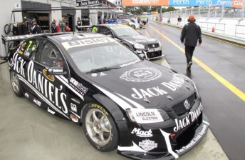 The Jack Daniel's Racing Holden of Todd Kelly