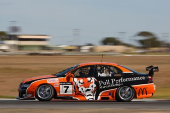 Steve Owen is assisting Jim Pollicina at Winton today