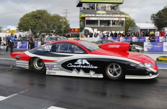 Michael Ali hung tough to win the Pro Stock Australian Championship
