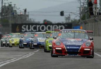 Jonny Reid leads the Carrera Cup field