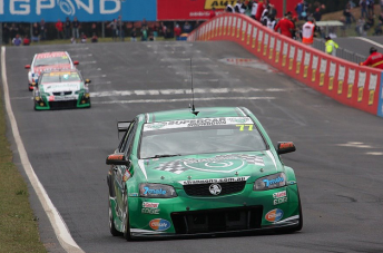 Cameron Waters drove with Grant Denyer in the Shannons-backed entry at Bathurst last year
