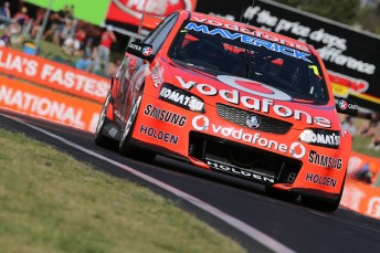 Jamie Whincup and Paul Dumbrell have won the 2012 Supercheap Auto Bathurst 1000