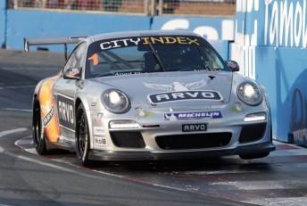 Porsche leader Craig Baird