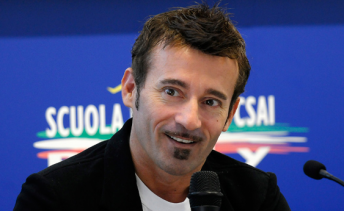 Two-time World Superbike champion Max Biaggi