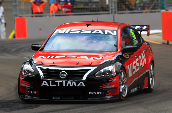 Trouble-free run for Nissan's first secret V8 test - Speedcafe