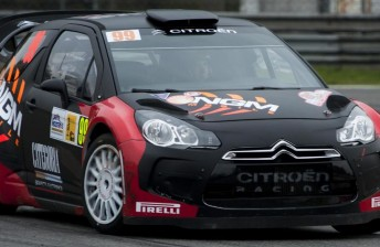 Lorenzo campaigned a Citroen at Rally Monza