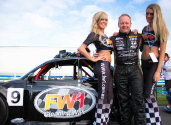 Former V8 Supercars driver Jason Bargwanna is involved with the Aussie Racing Cars