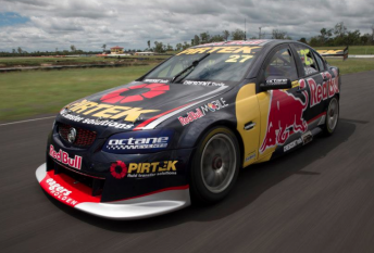 Casey Stoner's #27 Red Bull/Pirtek Holden Commodore VE