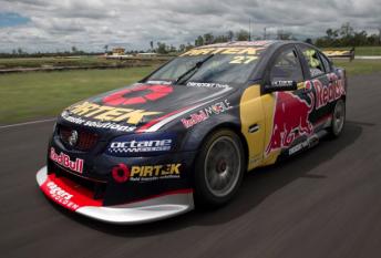 Casey Stoner's #27 Red Bull/Pirtek Holden Commodore VE