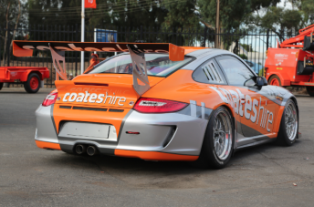 Nick Percat's Coates Hire Porsche