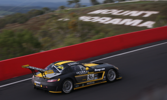 Erebus Motorsport won the weekend's race with all-German driving crew Bernd Schneider, Thomas Jaeger and Alex Roloff.