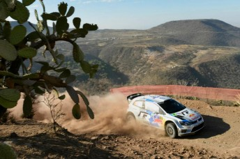 Sebastien Ogier is in control  at Rally Mexico