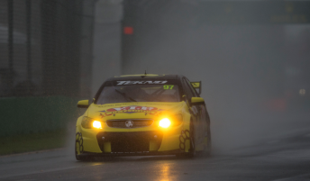 Van Gisbergen cuts through the gloom on the way to victory