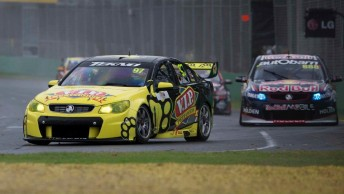 Shane van Gisbergen, one of eight drivers excluded from Race 3