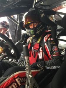 Kurt Busch aboard the V8 Supercar