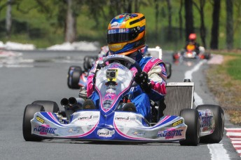 Townsville's Joshua Smith will race in the 2013 CIK-FIA European KF Championships (Pic: AF/Budd)