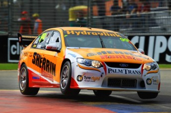 MW Motorsport's Sherrin Ford set the pace in Adelaide with Chaz Mostert at the wheel