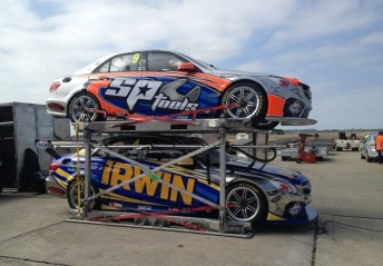 The Erebus Mercedes V8 Supercars of Maro Engel and Lee Holdsworth