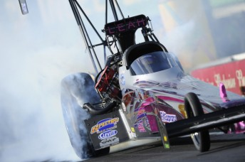 Rookie Leah Pruett became the NHRA's latest fast femme with her semi-final appearance