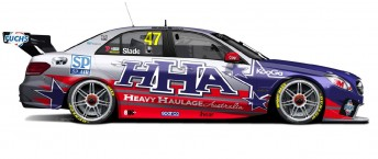 The one-off livery that Slade will campaign in the USA