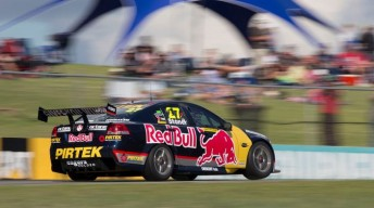 Casey Stoner on track at Barbagallo