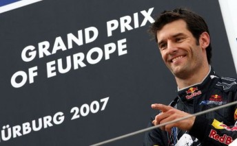 A podium in Germany...at a place that would be pivotal a little later in Webber's career
