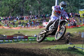 Luke Styke maintained his red plate in MX2 (Pic MotoOnline.com.au)