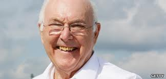 Murray Walker. Pic: BBC