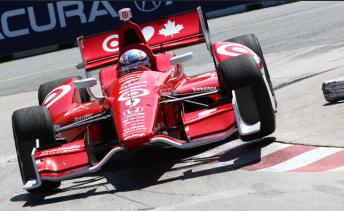 Scott Dixon soars to double wins in Toronto