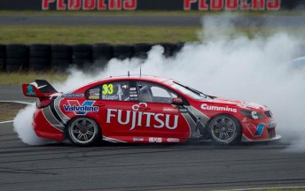 McLaughlin and GRM were winners last time out at Queensland Raceway