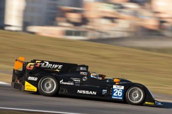 The G-Drive Racing Oreca Nissan