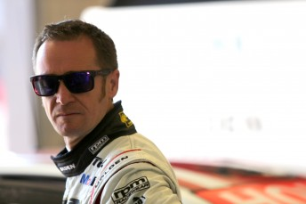 Greg Murphy escapes heavy crash with nothing more than a bruised ego