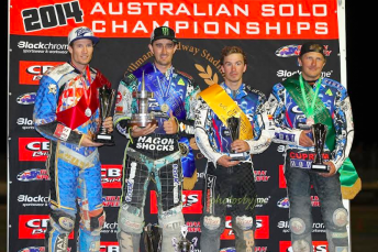 Chris Holder took his fifth national title