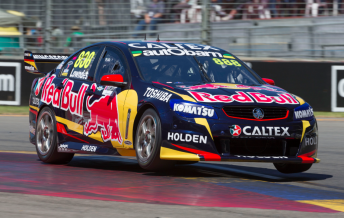 Craig Lowndes took the Race 2 pole