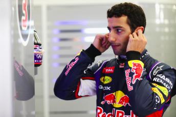 Daniel Ricciardo in Bahrain