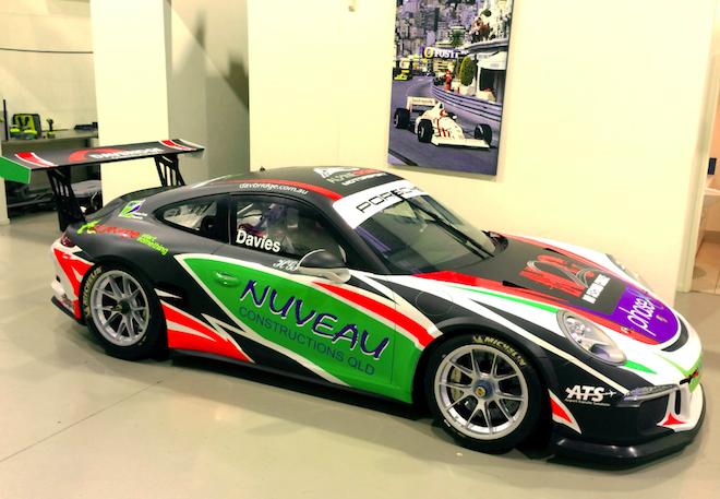 Shae Davies' 2014 Porsche