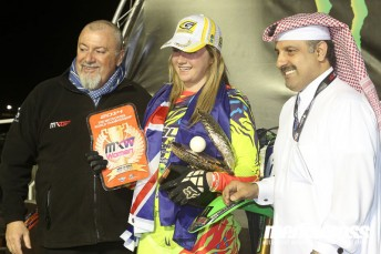 Meghan Rutledge won in Qatar