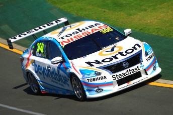 The 2014 event has yielded Nissan's first V8 Supercars pole