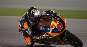 Jack Miller on his way to victory in Qatar