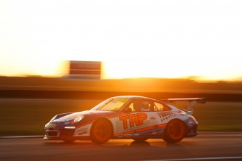 Fraser Ross wins the opening race of the  Porsche GT3 Cup Challenge Australia Presented by Pirelli's Jim Richards Endurance Trophy Series